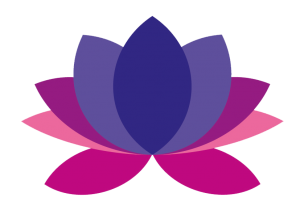 Violet Lotus Yoga Flower Logo-transparent